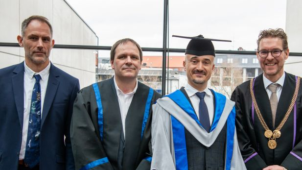 Lecture by and Appointment of Honorary Doctor Alvaro Cuervo-Cazurra