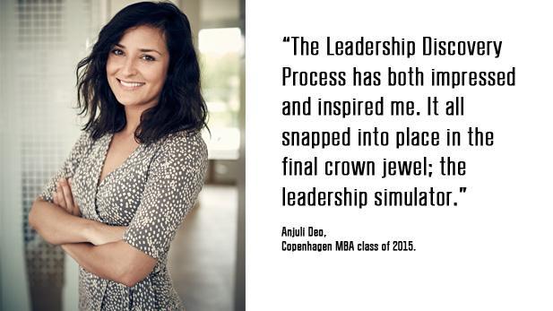Anjuli Deo Copenhagen MBA class of 2015