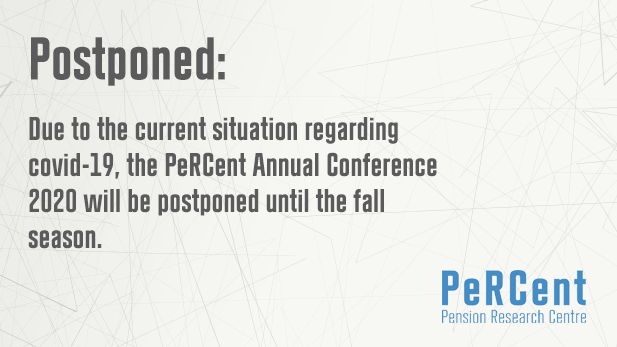 Postponed: PeRCent Annual Conference 2020
