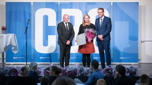 DSEB admin prize Julie de Molade 2019
