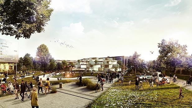 Park gadeplan