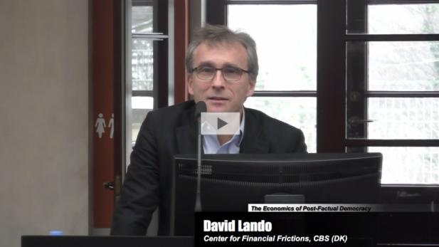 David Lando Keynote at CIBS Conference