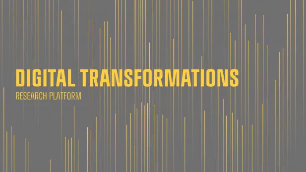 Digital Transformations Research Platform