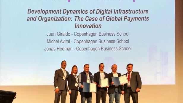 Micehl Avital, Jonas Hedman, Juan Giraldo, ICIS, AIS, IS, research, IT, payment, digitalization