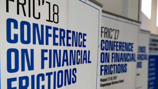 FRIC'19 Conference on Financial Frictions