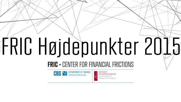 FRIC Højdepunkter 2015 banner