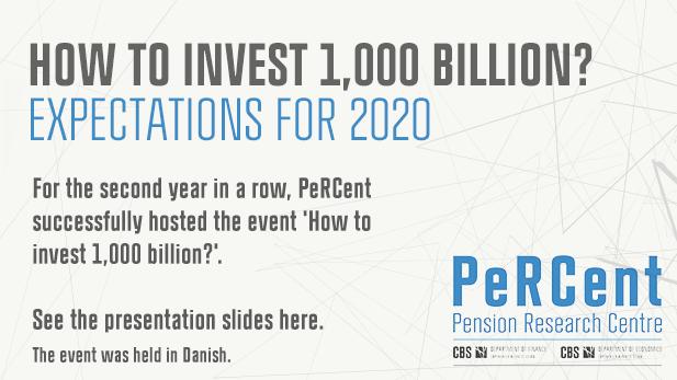 Hvordan Investeres 1000 mia.? Forventninger til 2020