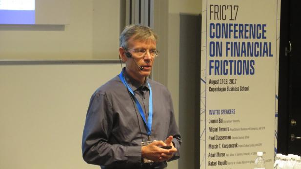 Allan Timmermann keynote at FRIC17