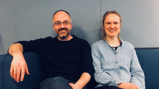 Esben Rahbek Gjerdum Pedersen and Kirsti Reitan Andersen from cbsCSR