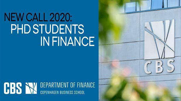 PhD in Finance 2020