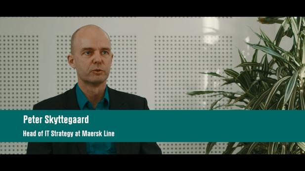 Interview with Peter Skyttegaard, Head of IT hos Maersk