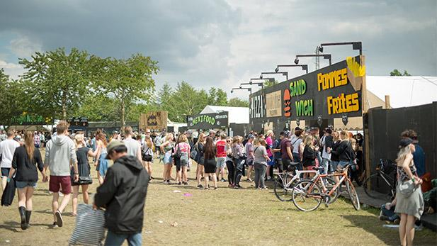queing at roskilde