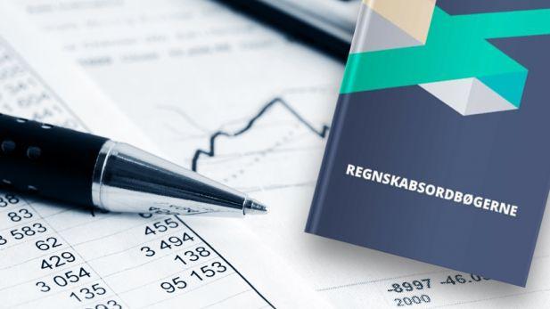 Forside af regnskabsordbogen