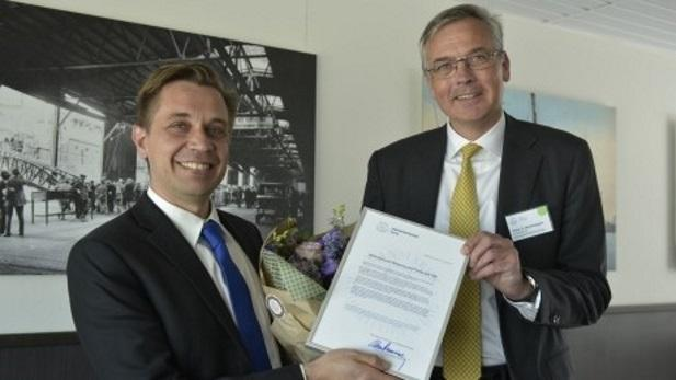 Shipping Bachelor Receives the Danish Shipping Award 2016