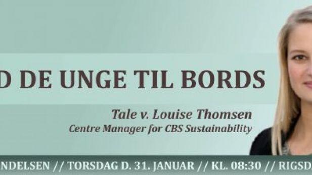 Louise Thomsen Klimabevægelsen