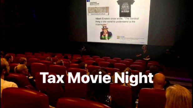 Tax Movie Night