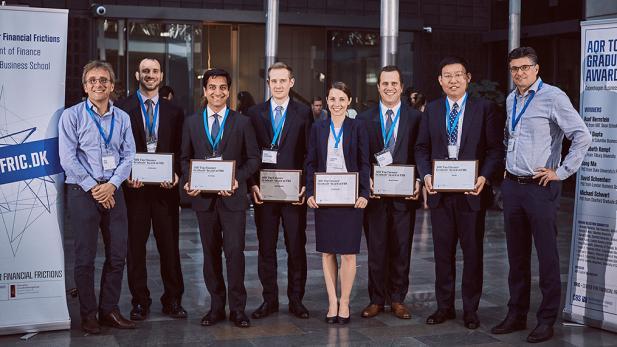 Winners AQR Top Finance Graduate Award 2016