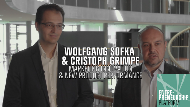 CBS Entrepreneurship Talks: Wolfgang Sofka & Christoph Grimpe - Marketing Innovation