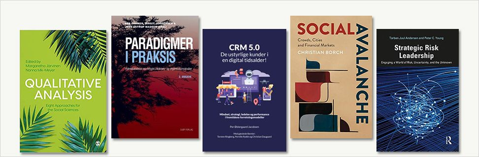 New books written by CBS Researchers