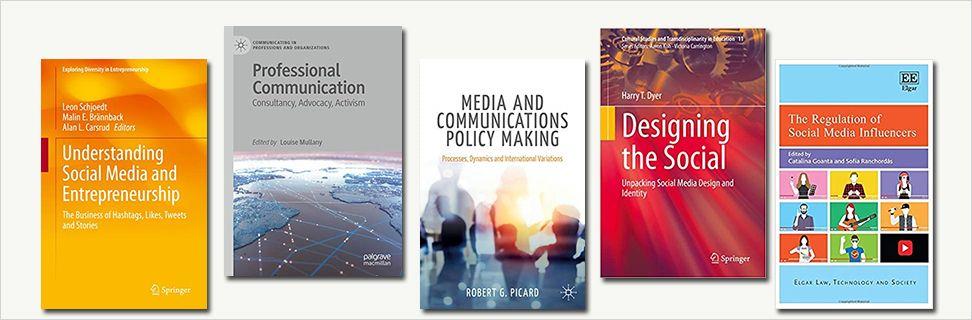 Nye titler om kommunikation og sociale medier