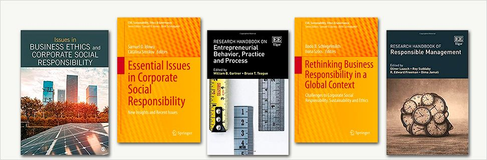 New books on corporate social responsibility and ethics