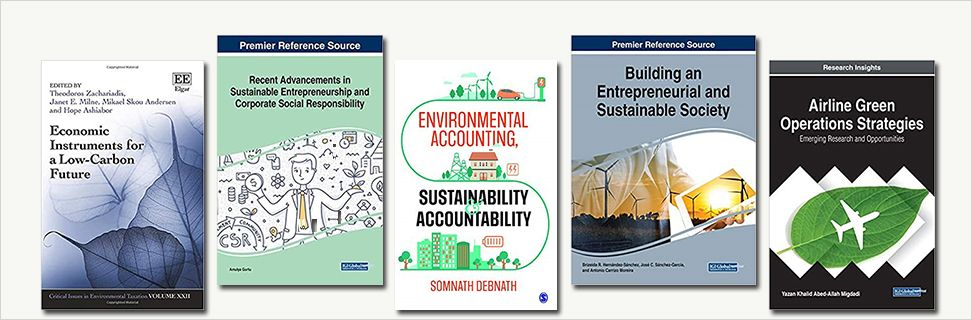 5 new books about sustainability