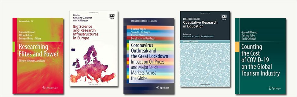 New books about research in general and about effects of the coronavirus