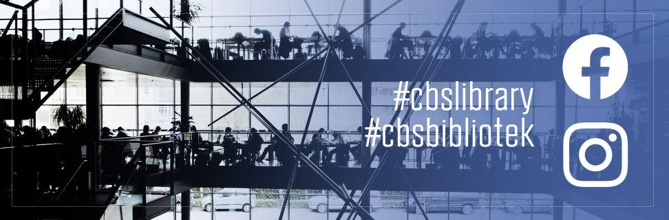 Følg CBS Bibliotek på Instagram og facebook