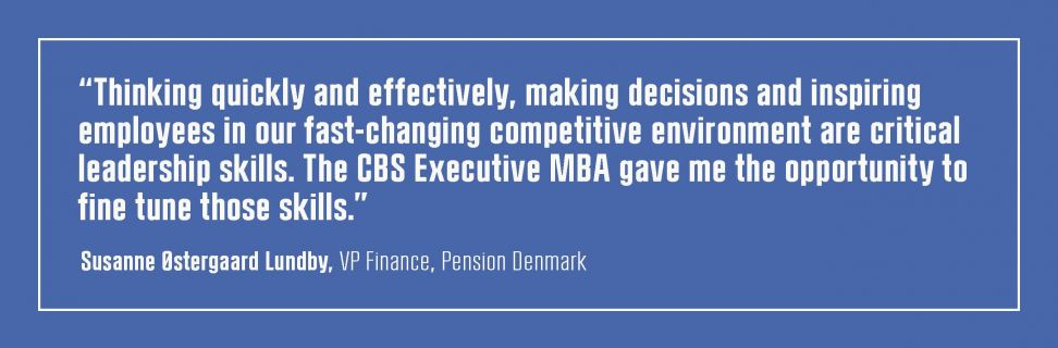 CBS Executive MBA