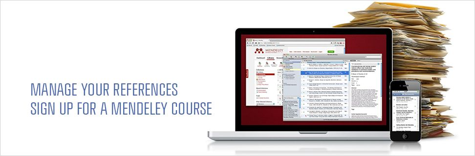 Reference management courses