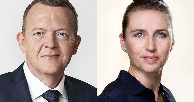 Mette Frederiksen - Lars Løkke Rasmussen