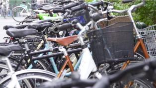 Bikes at CBS