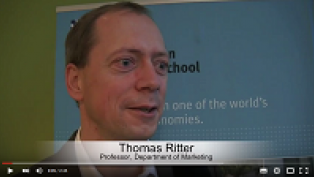 Thomas Ritter Copenhagen MBA Marketing Management video