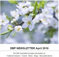 DBP Newsletter April 2016