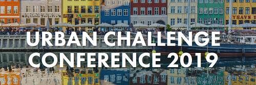 frontpage from website, Urban challenge conference